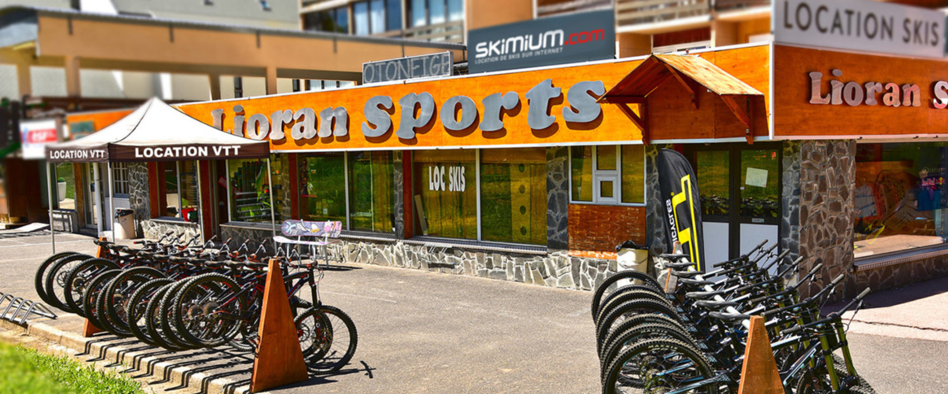 Location Ski LIORAN SPORTS location de skis et surf le lioran Location VTT